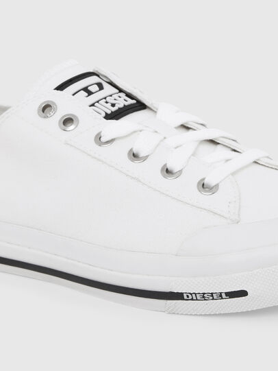 Diesel - S-ASTICO LOW CUT W, White - Sneakers - Image 4