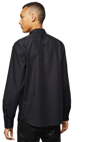 Diesel - S-PLIS, Black - Shirts - Image 2