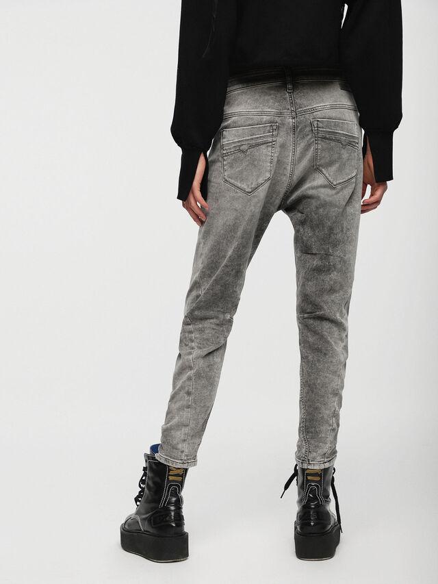 Diesel Fayza JoggJeans 0855B, Light Grey - Jeans - Image 2