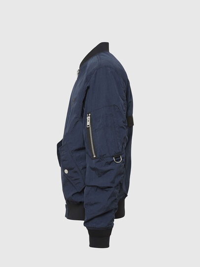 Diesel - J-DUST-KA, Dark Blue - Jackets - Image 5