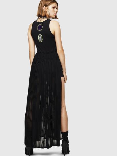 Diesel - D-TEHEI, Black - Dresses - Image 2