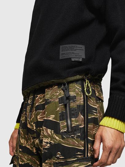 Diesel - K-PILOT, Black - Knitwear - Image 3