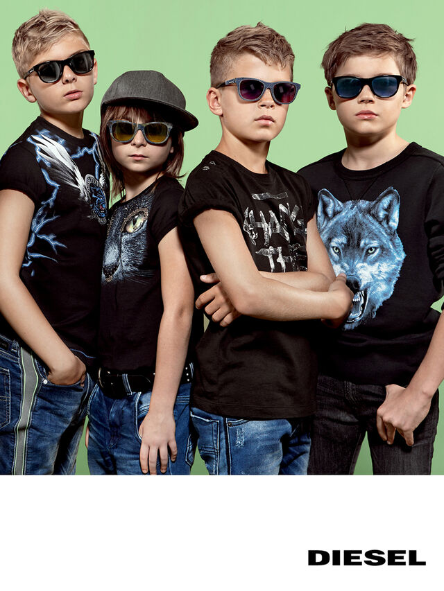 KIDS DM0200, Black Jeans - Kid Eyewear - Image 5