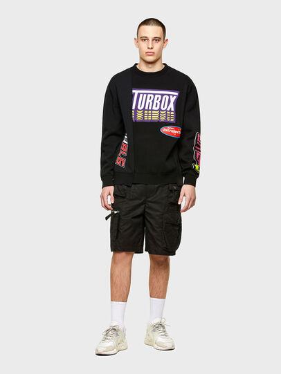Diesel - K-JARGON, Black - Knitwear - Image 4