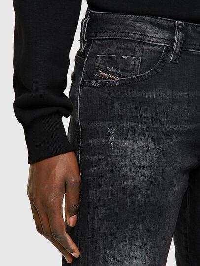 Diesel - THOSHORT, Black/Dark grey - Shorts - Image 4