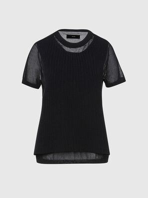 M-ABBIE, Black - Knitwear
