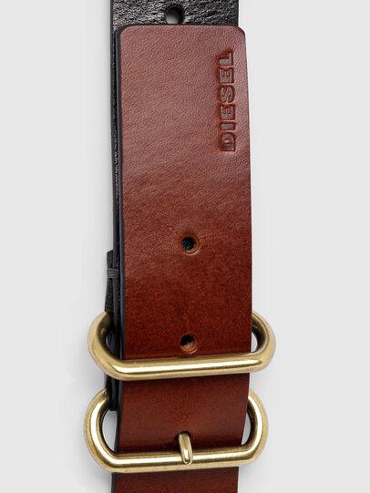 Diesel - B-TRIPLA, Brown/Black - Belts - Image 4