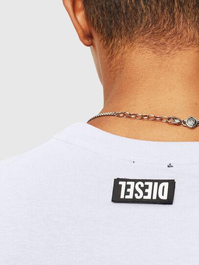 Diesel - T-DIEGO-T16, White - T-Shirts - Image 3