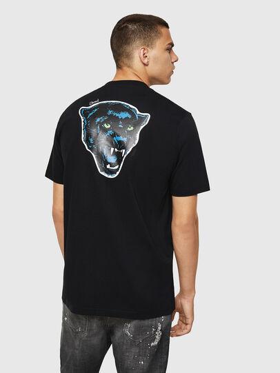 Diesel - T-JUST-B12, Black - T-Shirts - Image 2