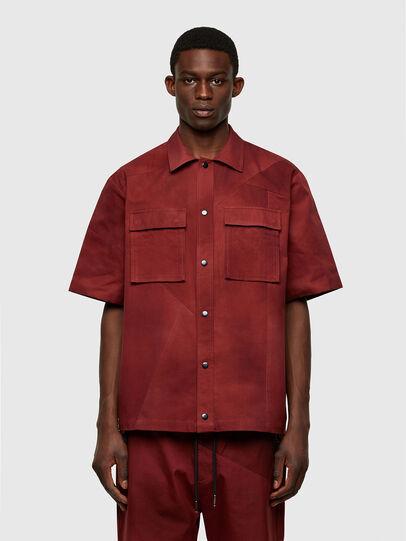 Diesel - S-GUNN-TIE, Red - Shirts - Image 1
