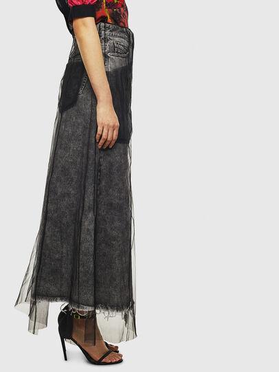Diesel - O-MARGY, Black - Skirts - Image 4