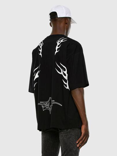Diesel - T-BALL-X3, Black - T-Shirts - Image 6