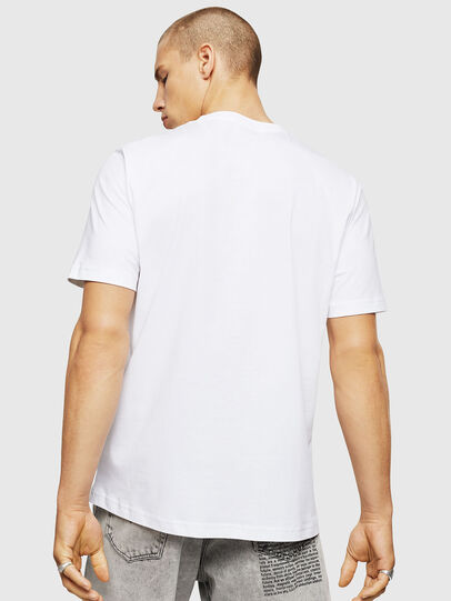 Diesel - T-JUST-A5, White - T-Shirts - Image 2