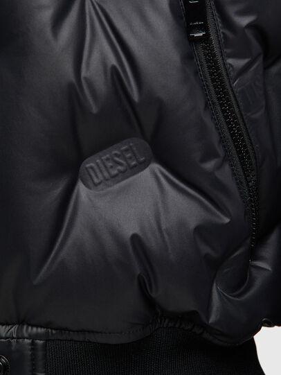 Diesel - W-AVALES, Black - Winter Jackets - Image 5
