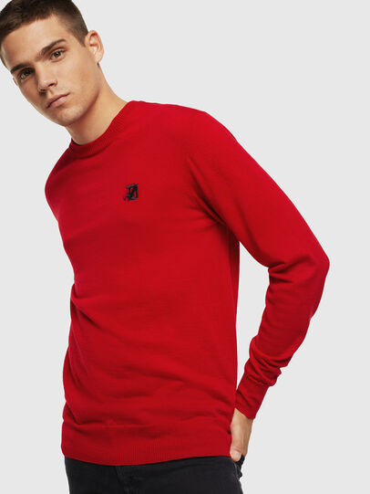 Diesel - K-AMIMI, Red - Knitwear - Image 1