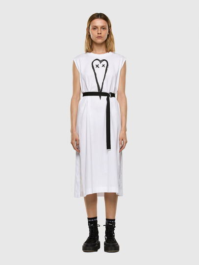 Diesel - D-FAIRY, White - Dresses - Image 6