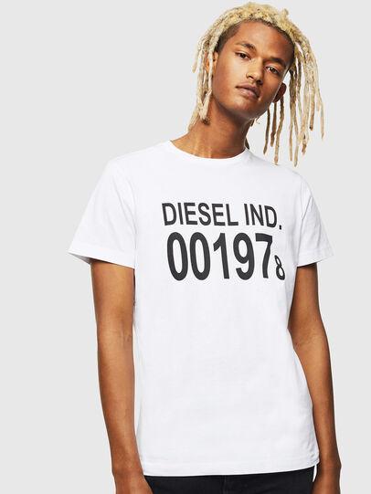 Diesel - T-DIEGO-001978, White - T-Shirts - Image 1