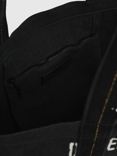 Diesel - D-THISBAG SHOP M, Black - Shopping and Shoulder Bags - Image 4