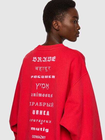 Diesel - F-EXA, Red - Sweaters - Image 3