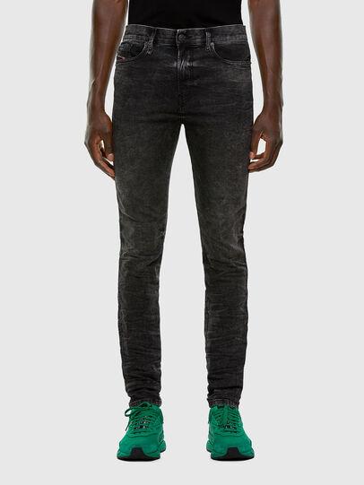 Diesel - D-Reeft JoggJeans 009FZ, Black/Dark grey - Jeans - Image 1
