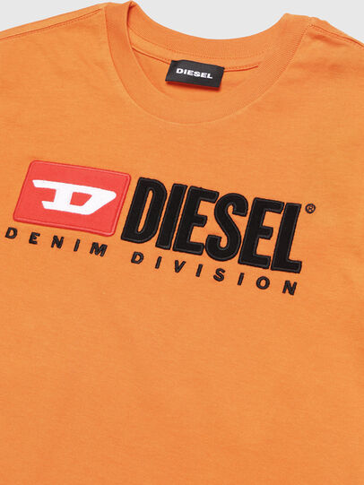 Diesel - TJUSTDIVISION, Orange - T-shirts and Tops - Image 2