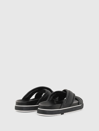 Diesel - SA-GRAND X, Black - Sandals - Image 3