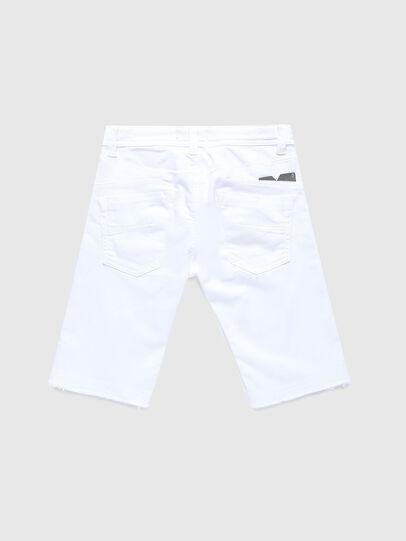 Diesel - DARRON-R-J SH-N JOGGJEANS, White - Shorts - Image 2