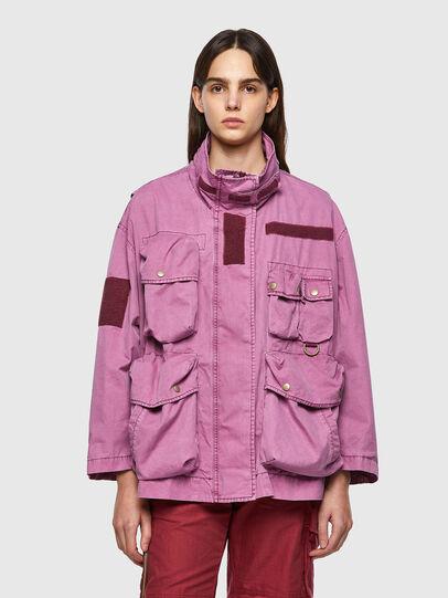Diesel - G-BUMS, Pink - Jackets - Image 1