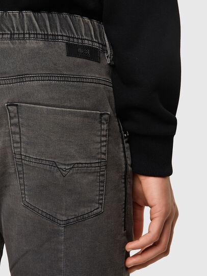 Diesel - D-KROOSHORT JOGGJEANS, Black - Shorts - Image 3