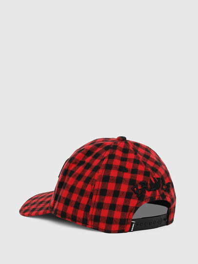 Diesel - CICHECK, Red/Black - Caps - Image 2