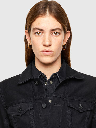 Diesel - DE-LIMMY, Black - Denim Jackets - Image 3