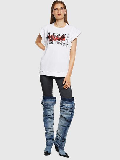 Diesel - T-JAIDA-A, White - T-Shirts - Image 4