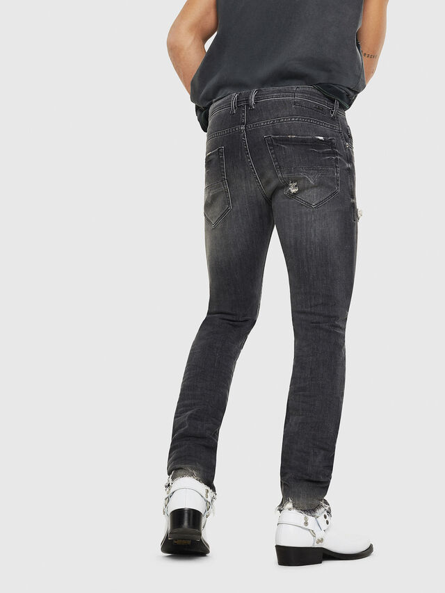 Diesel - Thommer 069DM, Black/Dark grey - Jeans - Image 2
