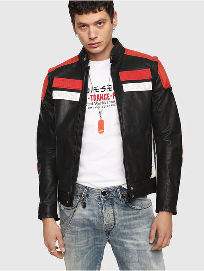 Diesel - L-YUJA,  - Leather jackets - Image 1