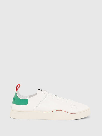 Diesel - S-CLEVER LS, White/Green - Sneakers - Image 1