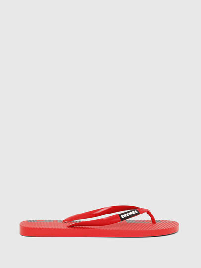 Diesel - SA-BRIIAN, Red - Slippers - Image 1