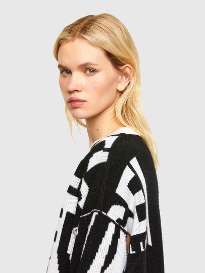 Diesel - M-ROSALINE, White/Black - Knitwear - Image 3