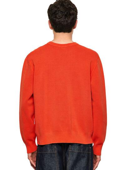 Diesel - K-JERSEY, Orange - Knitwear - Image 2