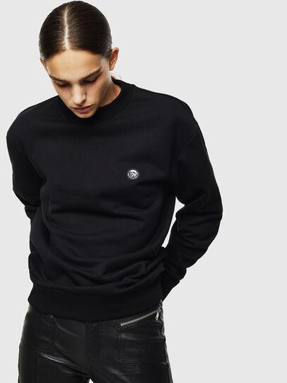 Diesel - S-LINK, Black - Sweaters - Image 2
