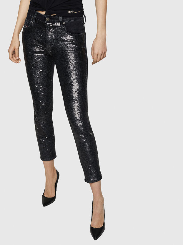 Babhila 0093G, Black/Dark grey - Jeans