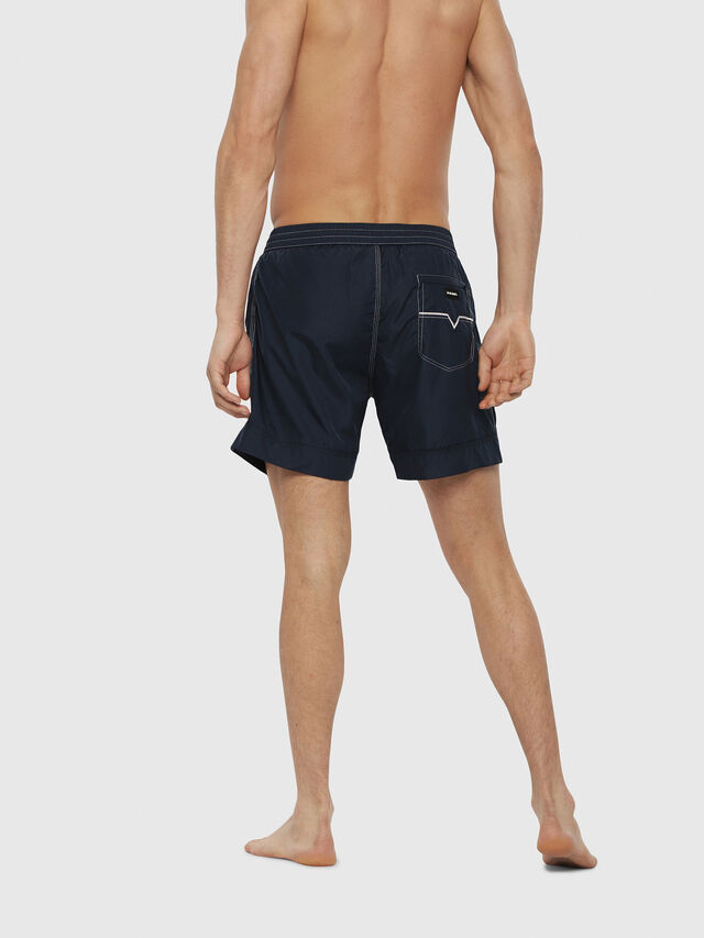 Diesel - BMBX-WAVE 2.017, Blue - Swim shorts - Image 2