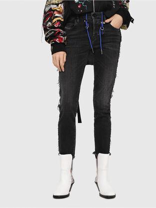Babhila 081AH, Black/Dark grey - Jeans