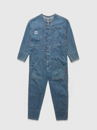 Diesel - DxD-TUTA, Light Blue - Jumpsuits - Image 1