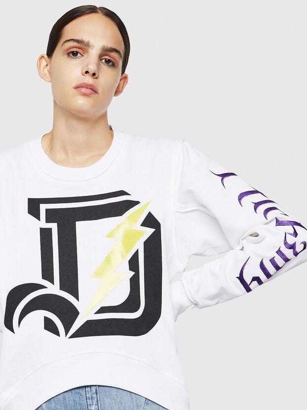 F-LYANYDY-A, White - Sweaters