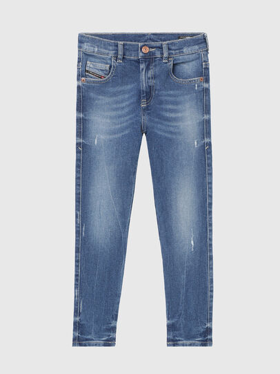 Diesel - D-SLANDY-HIGH-J, Medium blue - Jeans - Image 1