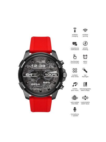 Diesel - DT2006, Red - Smartwatches - Image 4