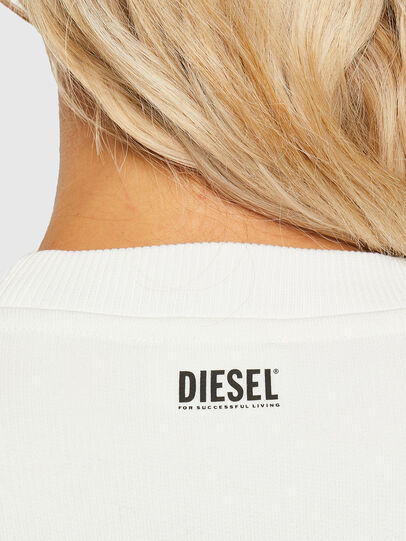 Diesel - F-ANG-R10, White - Sweaters - Image 3