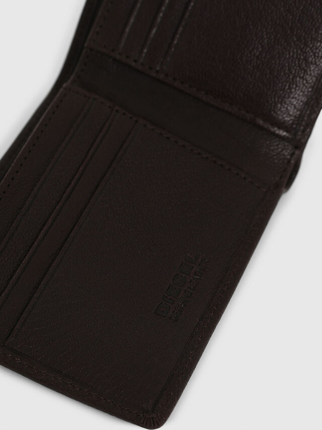 Diesel NEELA XS, Dark Brown - Small Wallets - Image 4