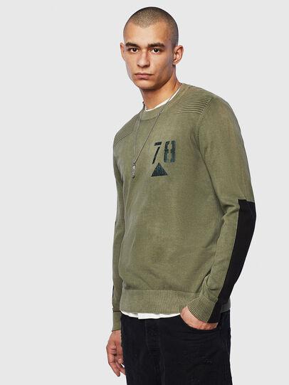 Diesel - K-PACHY, Military Green - Knitwear - Image 1
