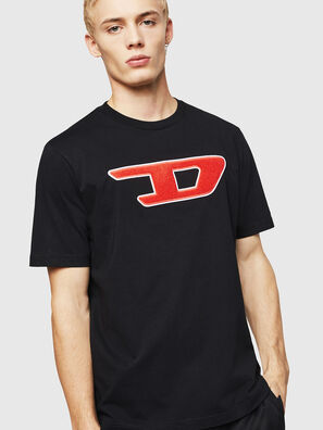 T-JUST-DIVISION-D, Black - T-Shirts